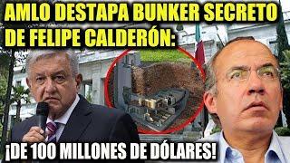 Download AMLO ¡DESTAPA BUNKER SECRETO DE FELIPE CALDERÓN EN LOS PINOS! Video