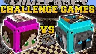 Download Minecraft: POPULARMMOS VS GAMINGWITHJEN CHALLENGE GAMES - Lucky Block Mod - Modded Mini-Game Video