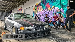 Download [HOONIGAN] DT 060: BMX Kids Abuse $350 BMW E36 Video