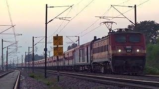 Download 12398 New Delhi - Gaya MAHABODHI Express Sluggishly Skips Bhaupur : INDIAN RAILWAYS Video