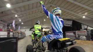 Download Snowmobile Quad and MX freestyle at the Toronto Snowmobile Show! Video