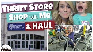 Download $100 THRIFT STORE HAUL & Shop with Me Video