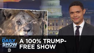 Download A 100% Trump-Free Show | The Daily Show Video