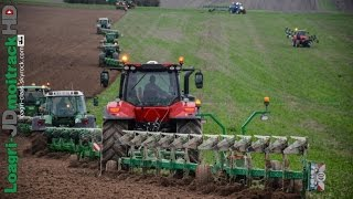 Download BIG PLOUGHING with 100 bottom Charlier plows in France ! Video