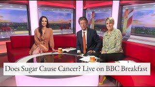 Download Does Sugar Cause Cancer? Live on BBC Breakfast July 2019 | Nichola Ludlam-Raine Video