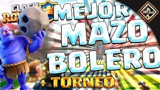 Download MEJOR MAZO DE BOLEROS ″ NUEVO META″ + TORNEO CLASH ROYALE | clash royale by mr luis Video