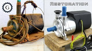 Download Electric Water Pump Restoration   Soviet Water Pump Video