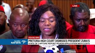 Download Madonsela reacts to court's judgement on Zuma's State Capture application Video