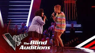 Download Jennifer Hudson & Nicole Dennis' 'And I Am Telling You' | Blind Auditions | The Voice UK 2019 Video