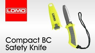 Download Lomo Compact BC Safety Knife - Diving - Kayaking Video