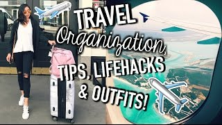 Download Travel Life Hacks, Organization Tips, Outfits, How To Pack, & Carry On Essentials! Video