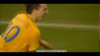 Download Zlatan magic goal against England - Stan Collymore commentary Video