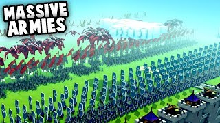 Download MASSIVE Armies! NEW Creative Mode Update (Kingdoms and Castles Gameplay) Video