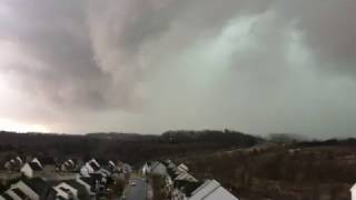 Download Hail yes! Severe storm hits with 60 mph on Feb 25 Video