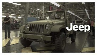 Download Jeep® 75th Anniversary | 75th Salute concept Wrangler | Factory Build Video