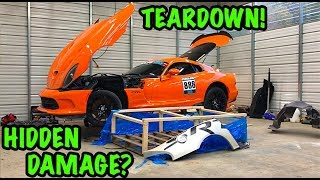 Download Rebuilding A Wrecked 2014 Dodge Viper TA ″TIME ATTACK″ PART 3 Video