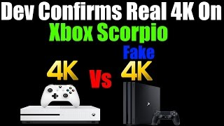 Download Another Dev Confirms Game Is Native 4K On Xbox Scorpio, Fake 4K On PS4 Pro! Video