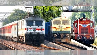 Download Daring Old Lady | Freight Trains NCR | Mumbai Rajdhani gets Chased. Video