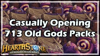 Download [Hearthstone] Casually Opening 713 Old Gods Packs Video