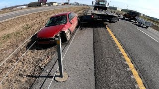 Download Car VS Cable Barrier Video