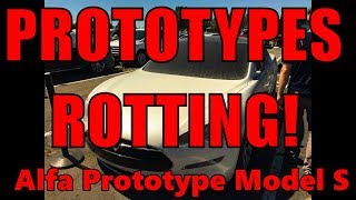 Download Tesla Prototypes Spotted ROTTING Roadster and Model S Video