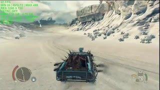 Mad Max crack v4 & updat fix all erreurs  crash, Map
