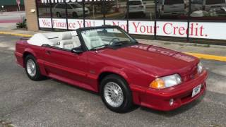 Download 1987 Ford Mustang GT Convertible Video