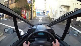 Download トヨタ i-ROAD 市街地試乗|TOYOTA i-ROAD POV Tokyo Drive Video