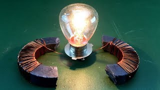 How to Make Free Energy Generator With Magnet Exhibition New