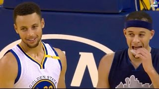 Download Steph Curry BURNS Seth Curry with Long 3 Pointer In His Face Video