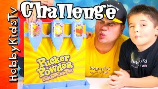 Download Pucker Powder Custom Kit Review with HobbyKids and HobbyDad Video