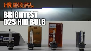 Download Which D2S HID Bulb is the Brightest? Morimoto, GTR Lighting, Osram CBI or Philips Xtreme? Video