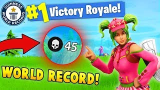 Download 45 KILLS BY 1 PLAYER!! *NEW WORLD RECORD! (Fortnite FAILS & WINS #8) Video