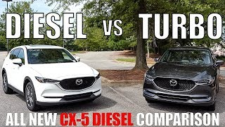 Download 2019 Mazda CX-5 DIESEL vs 2019 Mazda CX-5 Turbo | First Look At Skyactiv Diesel Video