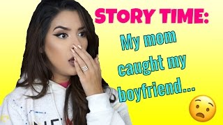 Download STORY TIME: MY MOM CAUGHT MY BOYFRIEND... Video