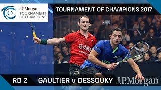 Download Squash: Gaultier v Dessouky - Tournament of Champions 2017 Rd 2 Highlights Video