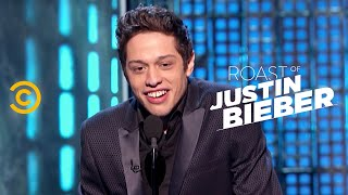 Download Roast of Justin Bieber - Pete Davidson - Comparing Fathers - Uncensored Video