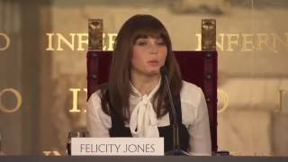 Download Felicity Jones Inferno Interview - Florence Press Conference Video