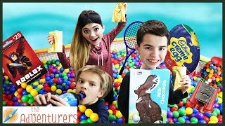 Download BALL PiT PARTY! Scavenger Hunt Hide And Seek TREASURE / That YouTub3 Family Video