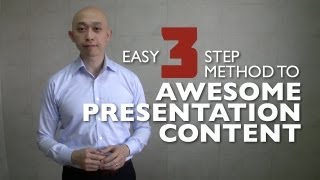 Download Easy 3 Step Method To Awesome Presentation Content (CC) Video