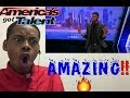 "Johnny Manuel: Guy Covers Whitney Houston's ""I Have Nothing"" - America's Got Talent 2017 - Reaction"
