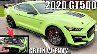 Download In DETROIT w/ GRABBER LIME 2020 SHELBY GT500! Video