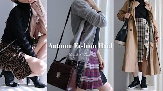 Download 가을 패션하울 & 가을코디북 (기본템/체크/레오파드/트렌치/etc) Autumn Fashion Haul | 수정 Krystal Video