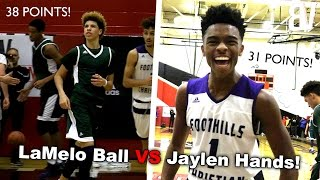 Download LaMelo Ball VS Jaylen Hands! Chino Hills VS Foothills Christian FULL HIGHLIGHTS Video