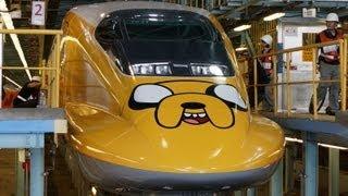 Download 2013 台灣高鐵歡樂卡通列車 施工過程記錄 The Making of THSR x Cartoon Network Theme Train Video
