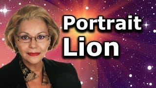 Download Astrologie : Portrait Lion Video