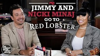 Download Nicki Minaj and Jimmy Fallon Go to Red Lobster Video