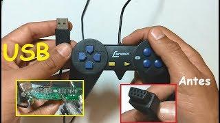 Download Como usar controle joystick de DVD no computador utilizando teclado USB como base Video