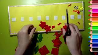 Download Làm đồ chơi góc toán : Sắp xếp theo quy tắc Video