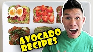 Download BUZZFEED FOOD'S AVOCADO RECIPES Taste Tested - Life After College: Ep. 507 Video